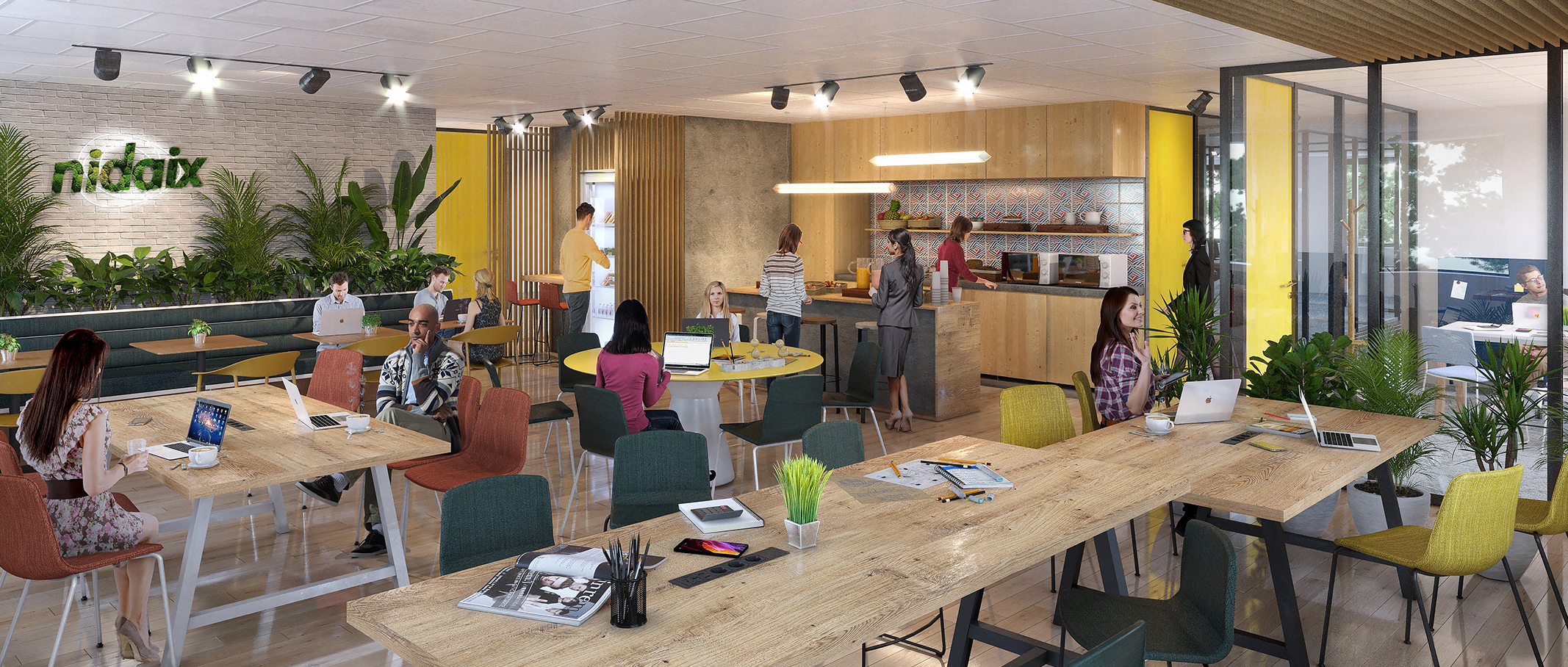 Coworking NIDAIX - Coworking à Aix-en-Provence