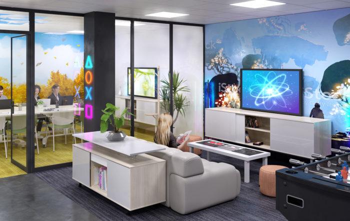 La Cave du NIDAIX - Geekroom et salle de réunion